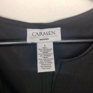 Carmen Marc Valvo Dresses - Carmen Marx Valvo Sleeveless Dress